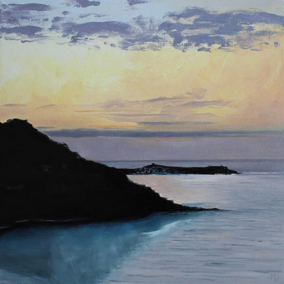 End of the day, St Ives by Martin Davis